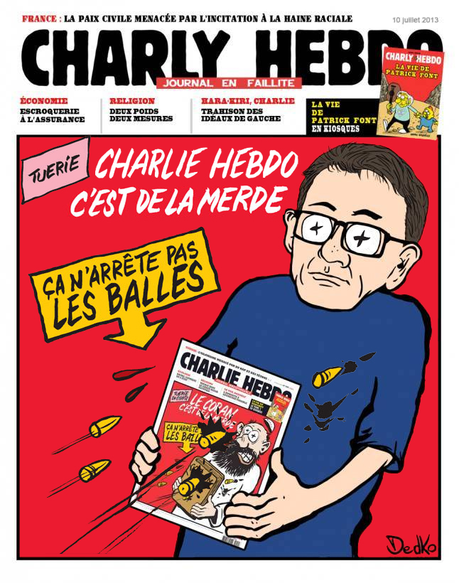 Military facilities accidents and disasters - Page 3 Charlie-hebdo-cest-de-la-merde