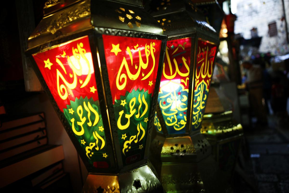 أشكال فوانيس رمضان 2020