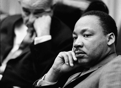 Martin Luther King Jr Side Profile