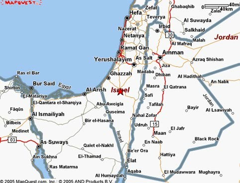 MapQuest com obscures status of occupied territories | The