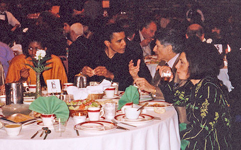 how barack obama learned to love the electronic intifada michelle obama then illinois state senator barack obama edward said and mariam said at a 1998 arab community event in chicago