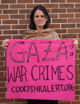 A CODEPINK protest