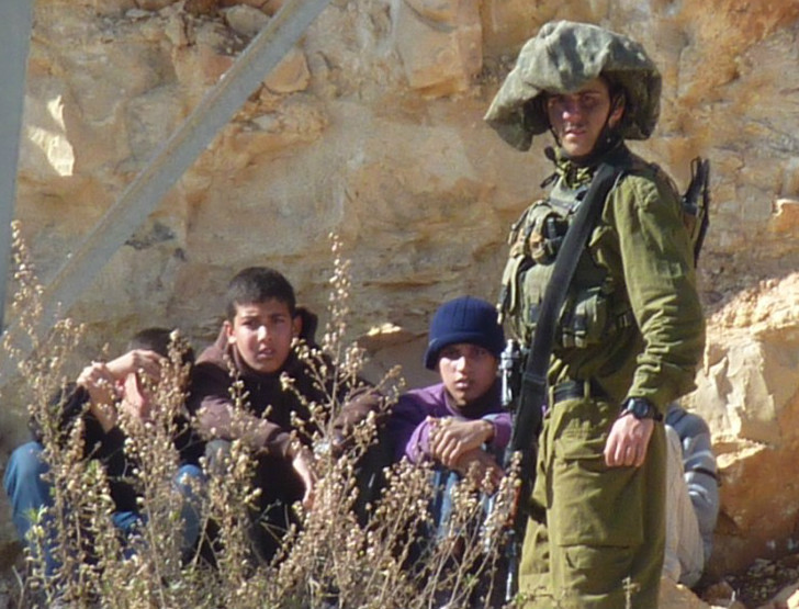 Female Soldiers Take a Break in the Desert Sun | May 16