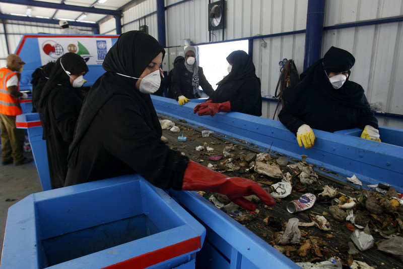 Gaza Opens First Recycling Plant As Waste Crisis Worsens
