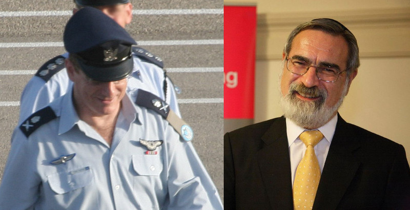 Eliezer Shkedi and Jonathan Sacks