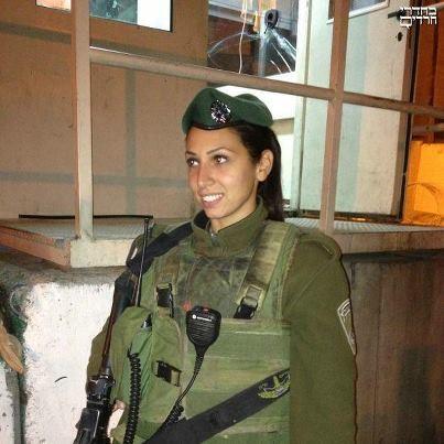 Talk israeli woman soldier facebook something