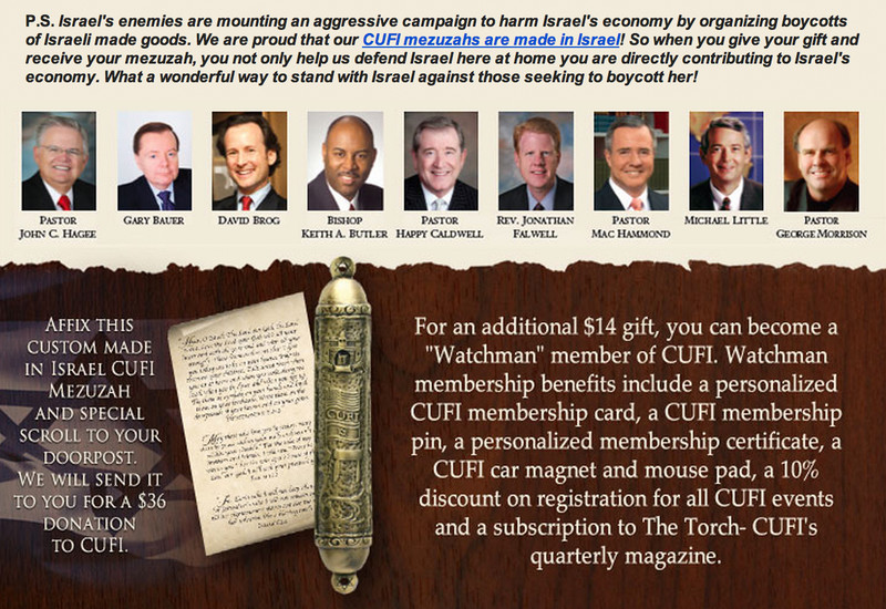Screenshot of CUFI e-letter described in article