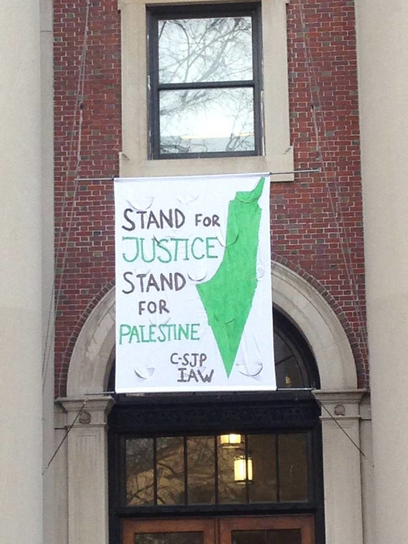Palestine Solidarity Group Banned At Northeastern, Students Threatened With  Expulsion