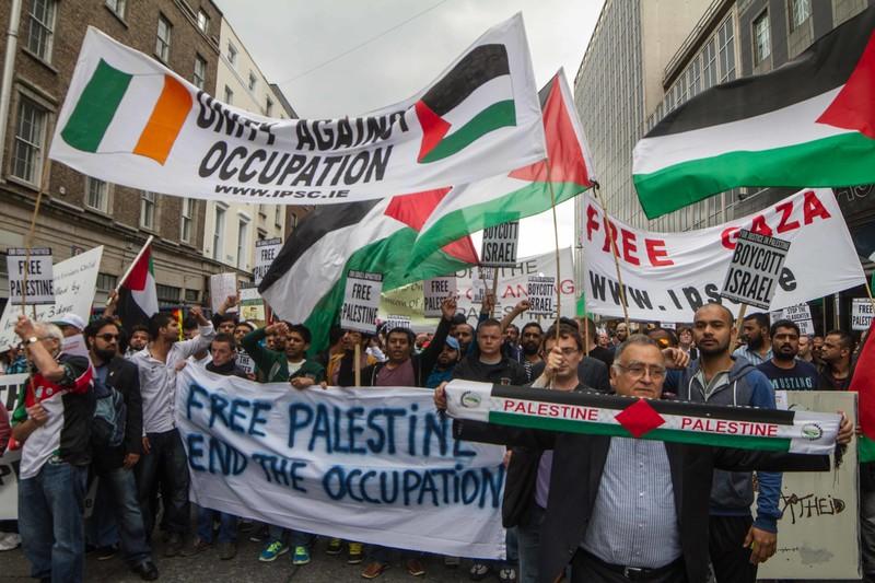 Slikovni rezultat za sinn fein palestine