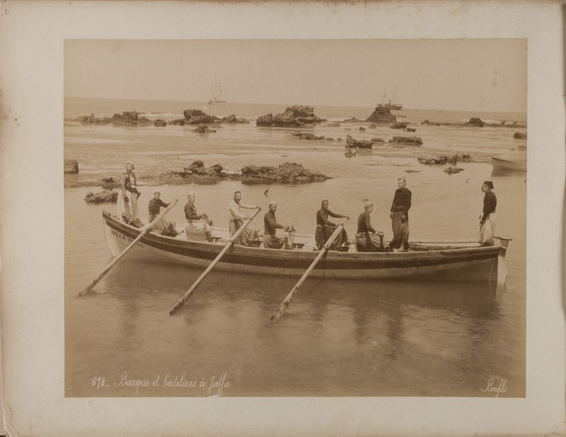 Endangered Archives Programme - Boatmen at Jaffa 1867-1914