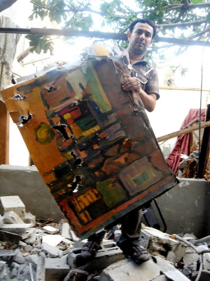 Eight families shared the apartment block which was destroyed during the summer 2014 Israeli assault on Gaza.
