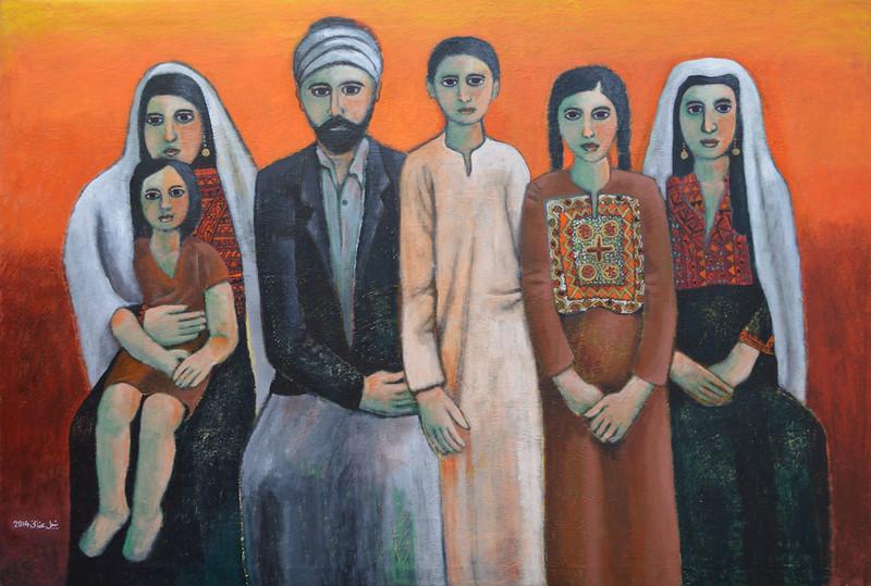 'Dabdoub Family, Bethlehem, 1900', Nabil Anani
