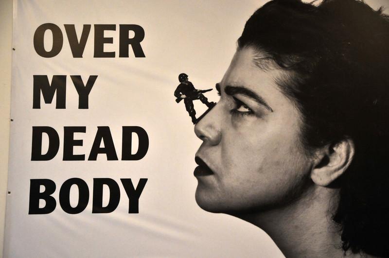 Mona Hatoum, Over My Dead Body (1988-2002)
