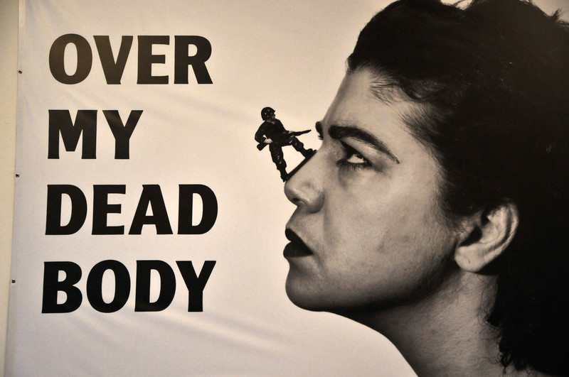 Mona Hatoum, Over My Dead Body (1988-2002)
