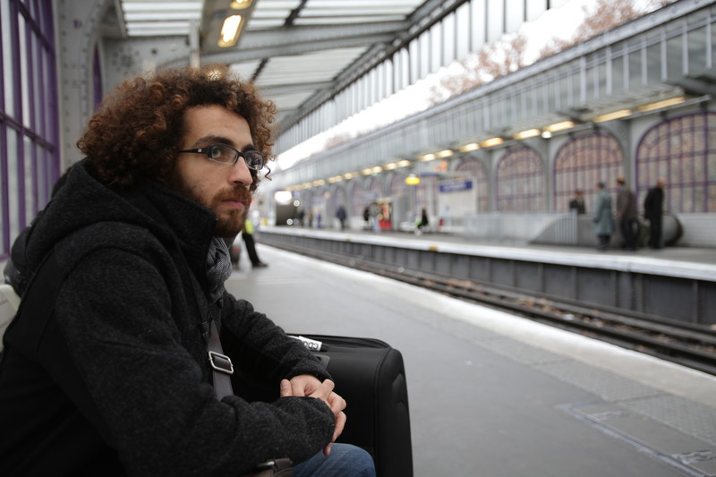 Mazen Maarouf, the Palestinian-Lebanese writer whose poetry appears in Words Without Borders' Palestine special issue.