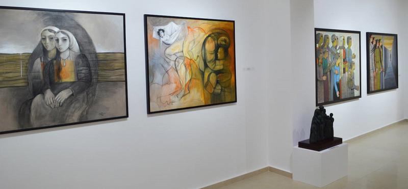 Narratives exhibition, Zawyeh Gallery, Ramallah