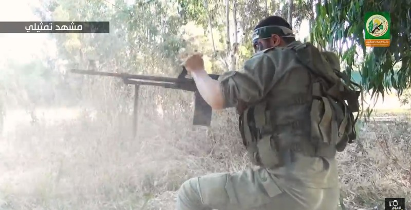 Hamas video depicting Gaza fighters behind Israeli lines goes viral