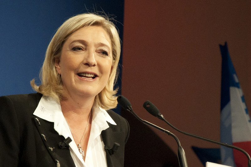 French far-right leader slams BDS to woo Israel lobby