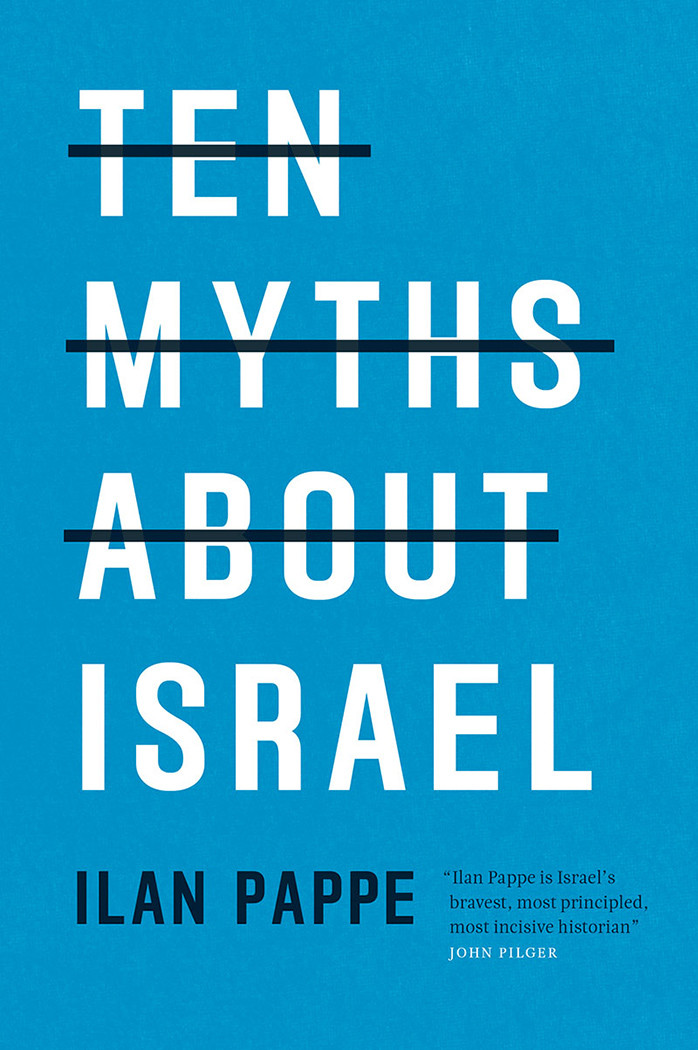 Cover of Ilan Pappe's book Ten Myths About Israel