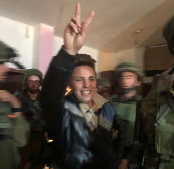 Israel arrests another Tamimi teenager