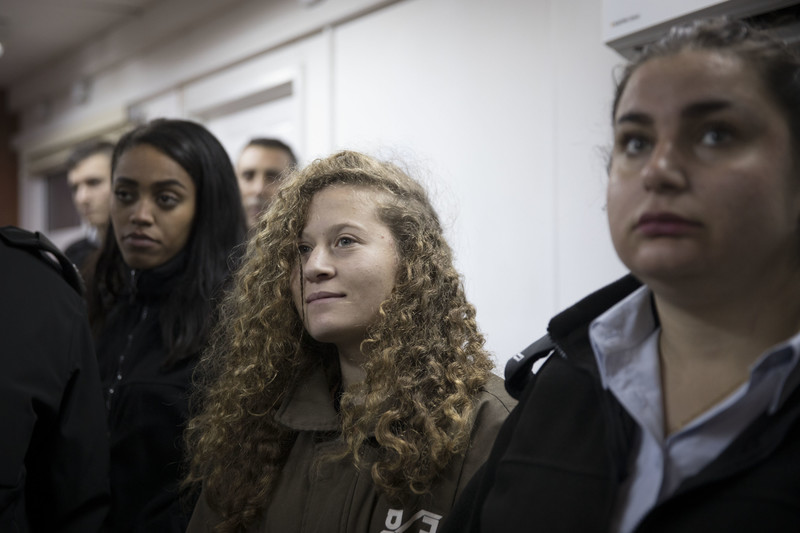 Palestinian Ahed El-Tamimi Jailed for 8 Months in a Plea Deal