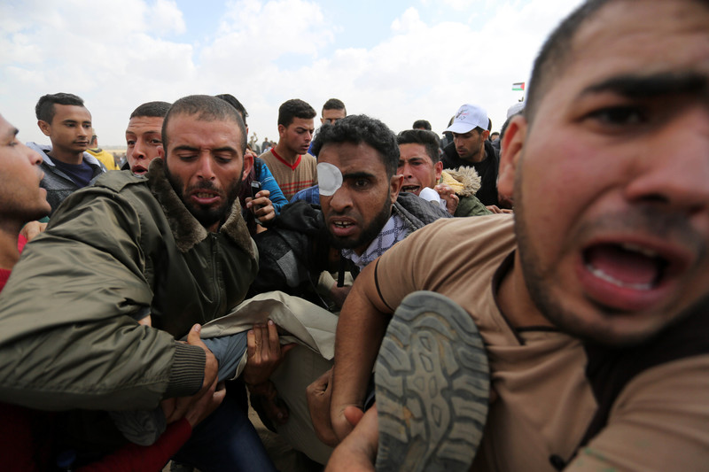 New York Times Sides With Israel As It Kills Gaza Marchers The