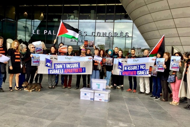 Insurer AXA helps Israel kill Palestinians and steal their land