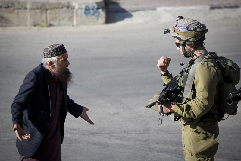 """Israeli """"self-defense"""" against Palestinians is logically impossible"""