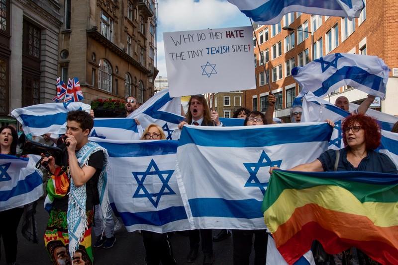 Anti-Semitism vs. anti-colonialism