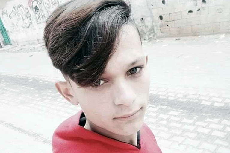 Gaza boy killed by explosive grenade fired at his face