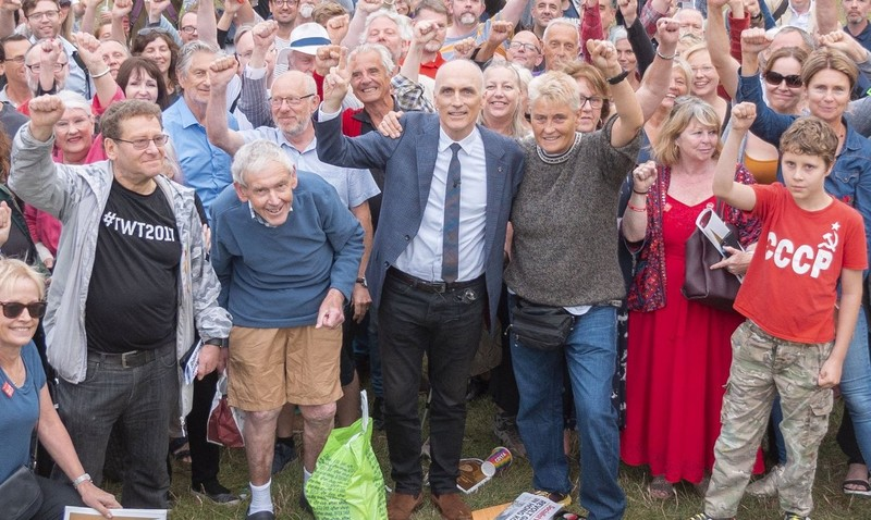 Image result for chris williamson in Brighton
