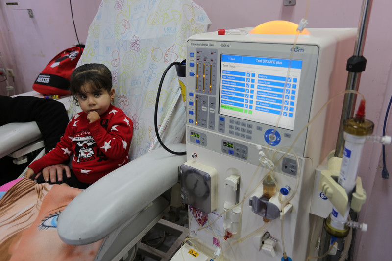 Gaza children forced to have medical treatment alone