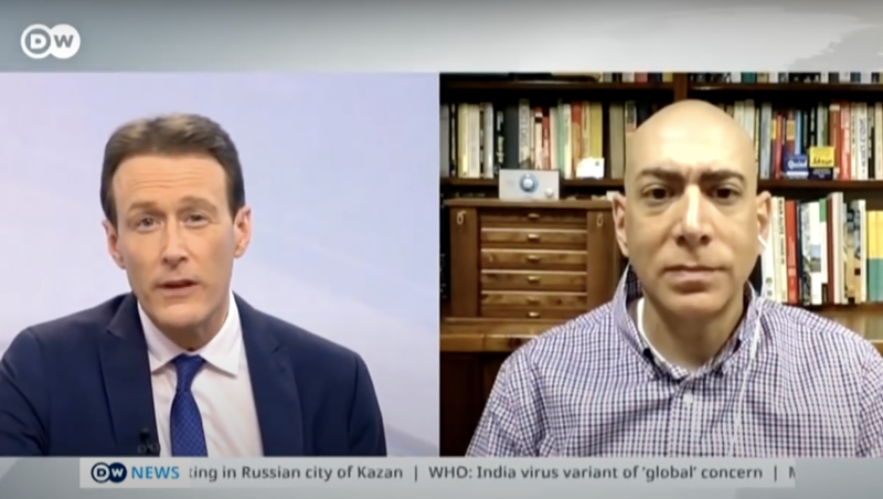 """Watch: German TV """"regrets"""" airing this interview about Gaza"""
