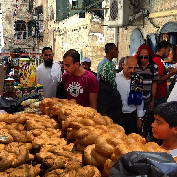 Mjadal traditional bread only for #ramadan - #jerusalem #palestine on Instagram