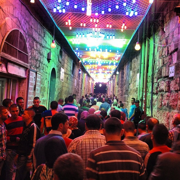 Entering #aqsa through Bab Hutta #jerusalem #palestine on Instagram