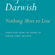 Cover of Najwan Darwish's collection of poetry
