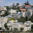 Houses inside the Israeli settlement of Beit El, near Ramallah, in the occupied West Bank.