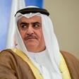 Bahrain's foreign minister Khalid bin Ahmed Al Khalifa.