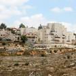 Apartments inside an Israeli settlement near the West Bank city of Ramallah.