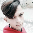 Selfie of teenage boy