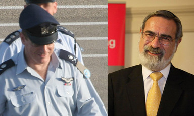 Eliezer Shkedi and Jonathan Sacks