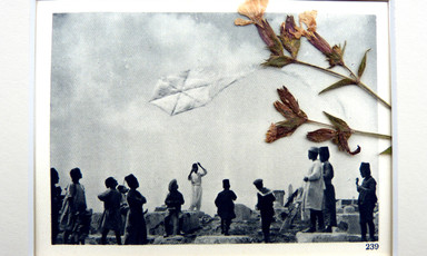 Palestinians flying kites at Jaffa in the 1930s