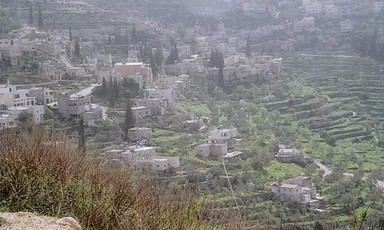 Battir's historic terraced landscape