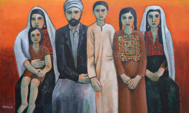 """Dabdoub Family, Bethlehem, 1900"", Nabil Anani"