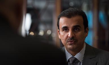 Qatar's Emir Tamim bin Hamad Al Thani