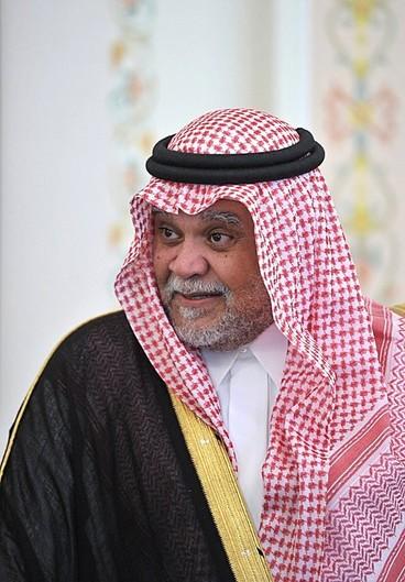 Portrait of Prince Bandar bin Sultan.