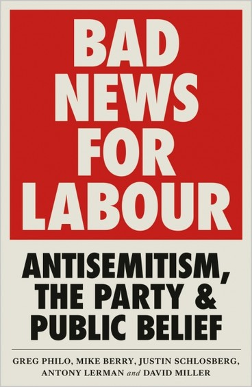 "The book cover for ""Bad News for Labour"""